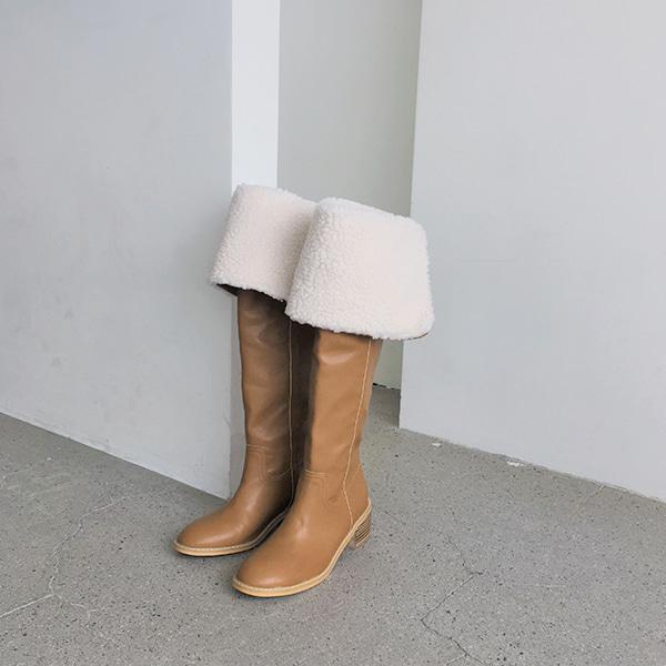 Sherpa Fleece Cuff Tall Boots