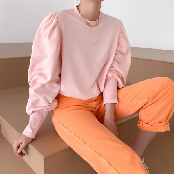 Gigot Sleeve Sweatshirt