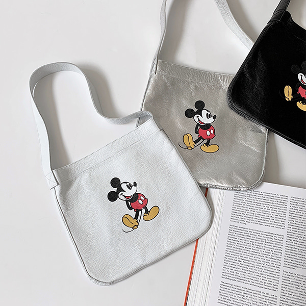 mickey leather-bag
