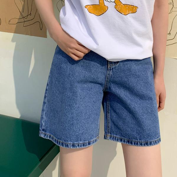 morning denim-shorts