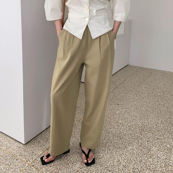 custom linen-pants(7-10일소요)