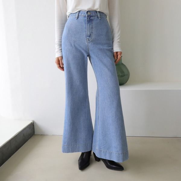 shake denim-pants