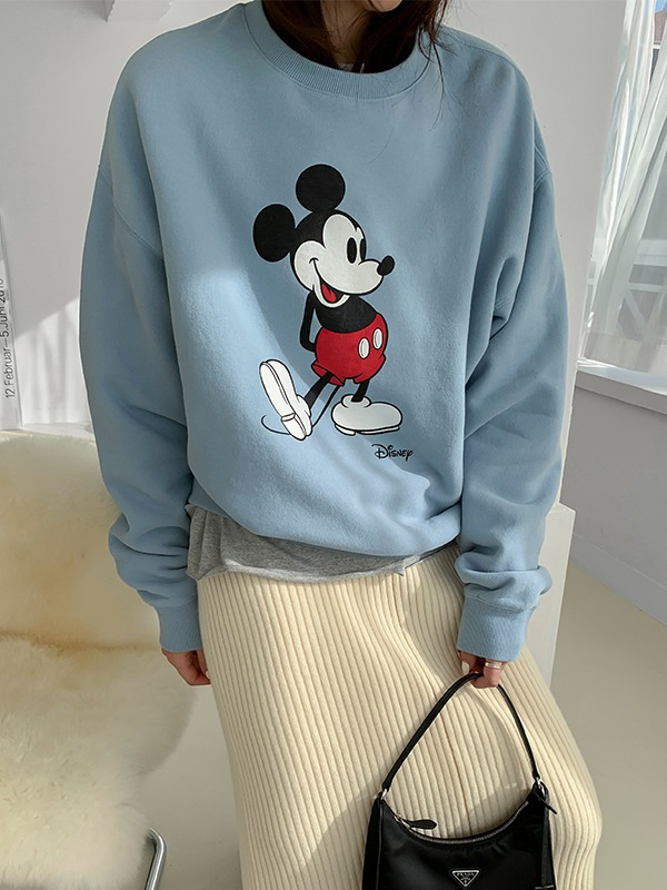 Cartoon Detail Loose Sweatshirt