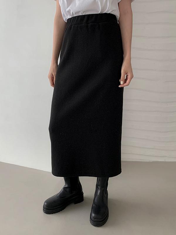 Pull-On Midaxi Skirt