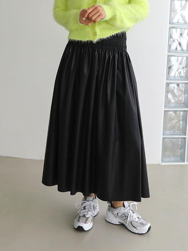 ウエストシャーリングスカート
