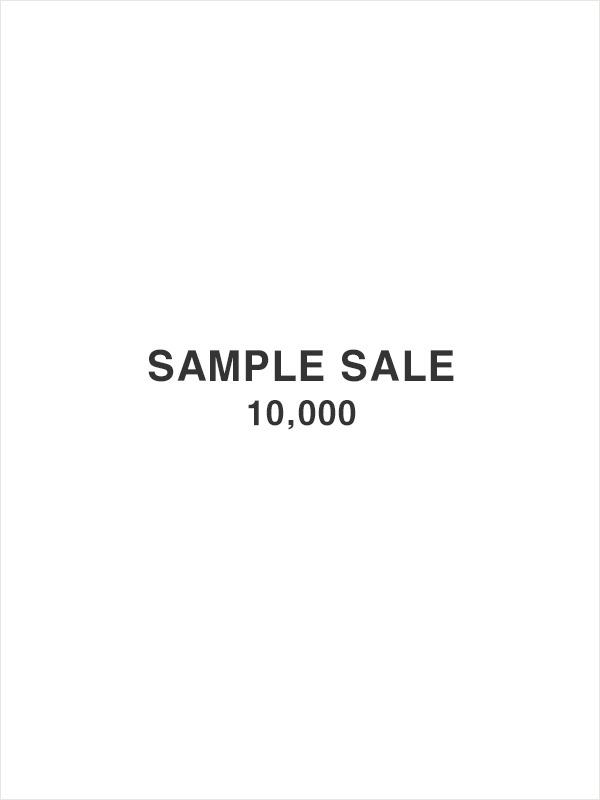 SAMPLE SALE(10,000)