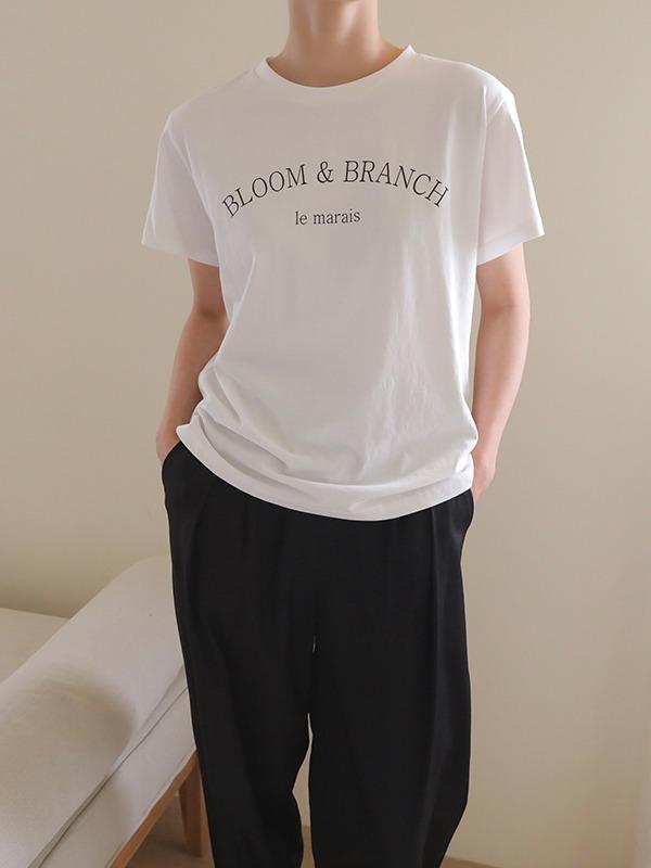 BLOOM & BRANCH Print T-Shirt