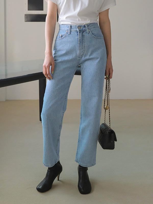 Loose Fit Cotton Jeans