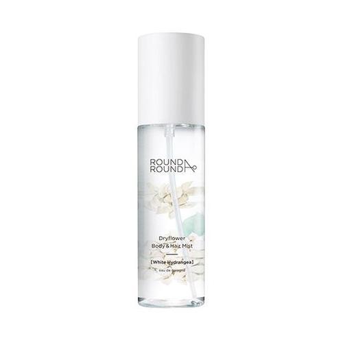 ROUNDA'ROUND Dry Flower Body & Hair Mist[WHITE HYDRANGEA]