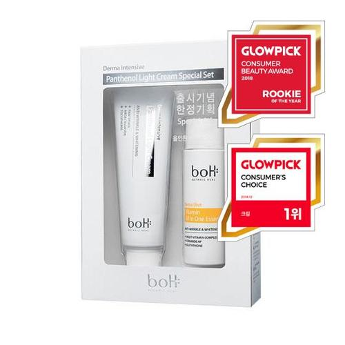 BOTANIC HEAL boH Derma Intensive Panthenol Light Cream Special Set