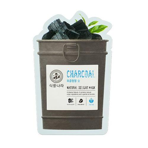 Shingmulnara Natural Delight Mask Charcoal