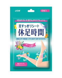 Kyusoku Jikan Cooling Sheet (6 Sheets)