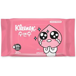 Kleenex Wet Wipes 20 Sheets Kakao Friends