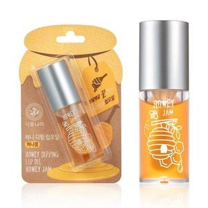 Shingmulnara Honey Dipping Lip Oil 01. Honey Jam 6 mL