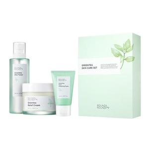 ROUNDA'ROUND Green Tea Skin Care Set