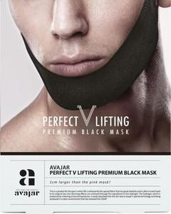 Avajar Perfect V Lifting Premium Black Mask 1 Sheet