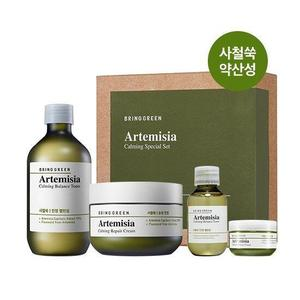 Bring Green Artemisia Calming Toner & Cream Set (AD)
