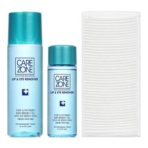 CAREZONE Low-irritation Lip and Eye Makeup Remover Set 110ml