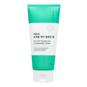 Shingmulnara Tea Tree Trouble Care Cleansing Foam 200ml