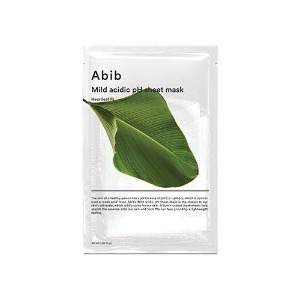 Abib Mild Acidic pH Sheet Mask Heartleaf Fit 1ea