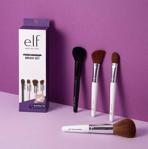 e.l.f. Face Makeup Brush Set