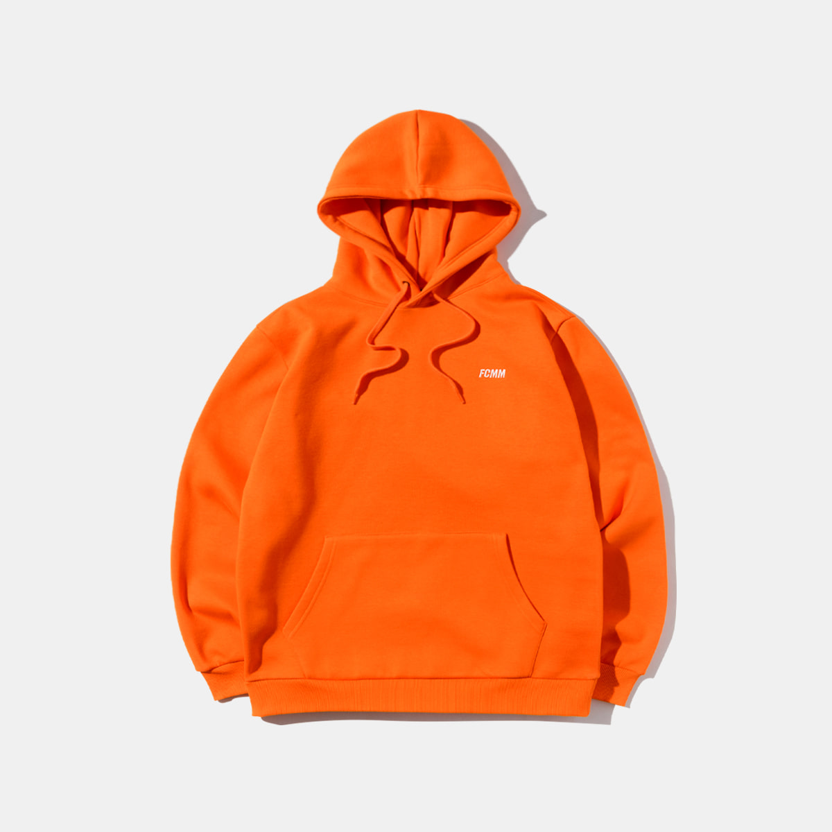 클럽 에센셜 후드 - 오렌지