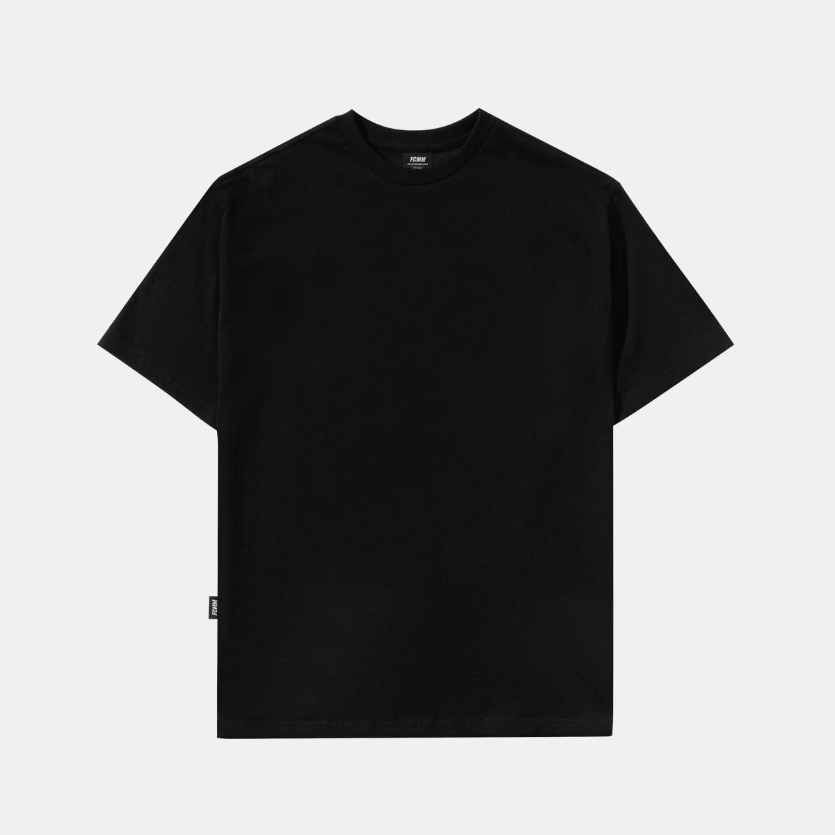 클럽 레이어드 티셔츠 - 블랙
