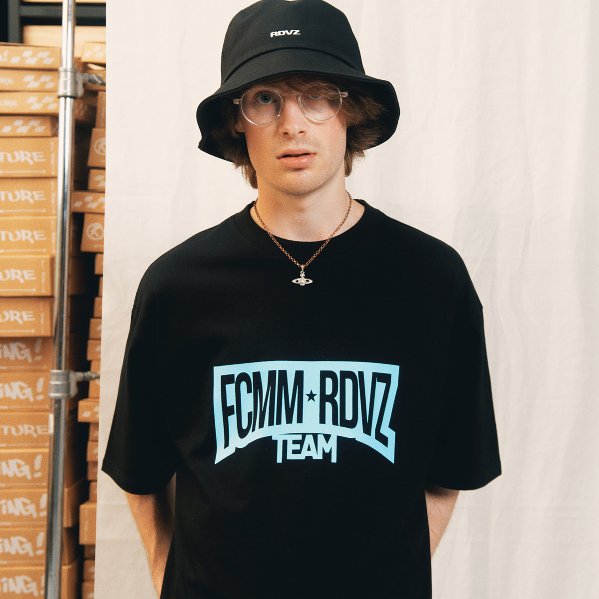 LOOK!FCMM X RDVZRACING TEAM T-SHIRT