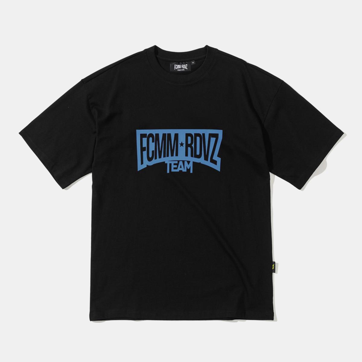 FCMM X RDVZ 레이싱 팀 티셔츠 - 블랙