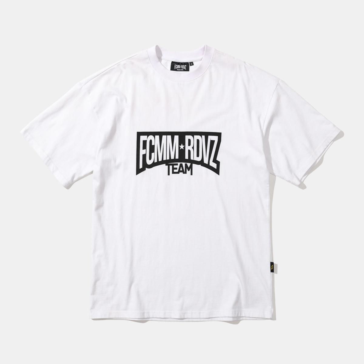 FCMM X RDVZ 레이싱 팀 티셔츠 - 화이트