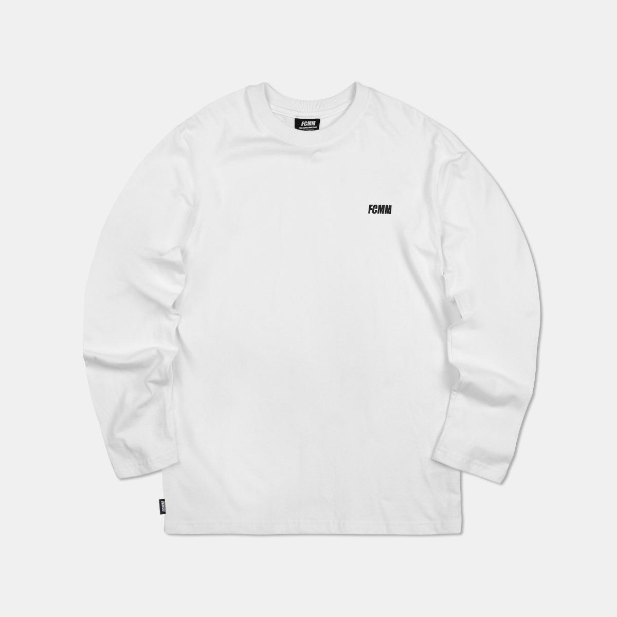 클럽 롱슬리브 티셔츠 - 화이트