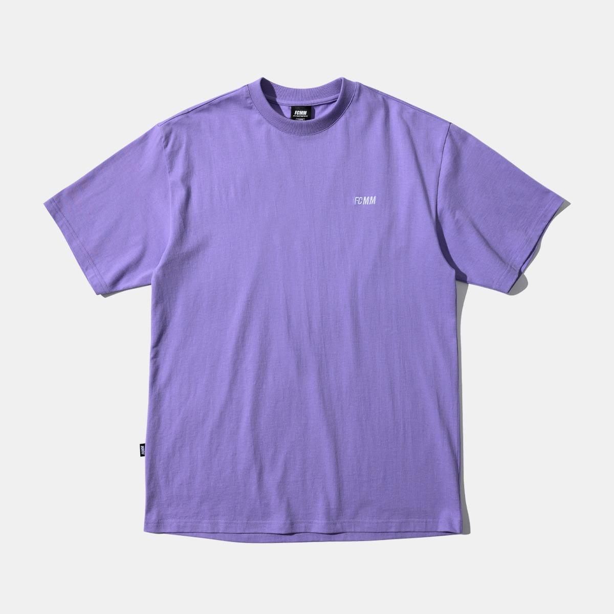 클럽 팀 프레쉬 코튼 티셔츠 - 라이트 퍼플(04월 13일 순차발송)