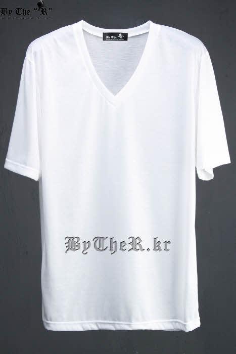 ByTheRVネックルーズ半袖Tシャツ