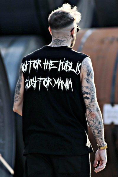 ByTheRProjectRロゴノースリーブTシャツ
