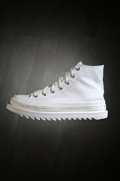 ByTheRShaqsol high white sneakers