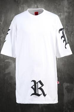 ByTheRビッグレタリング半袖Tシャツ