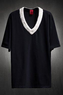 ByTheRロープネック半袖Tシャツ