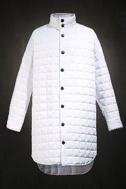 ByTheRキルティングシャツジャケット(ホワイト)