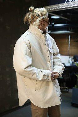 ByTheRエコレザーシャツジャケット