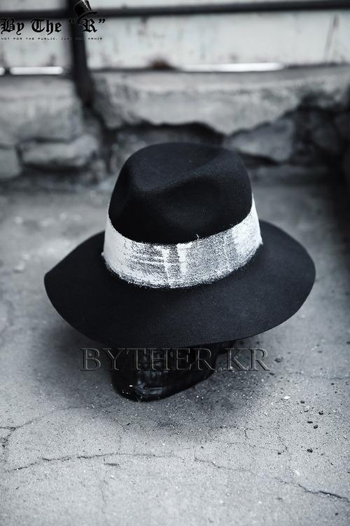 斯文氣息刷漆紳士帽