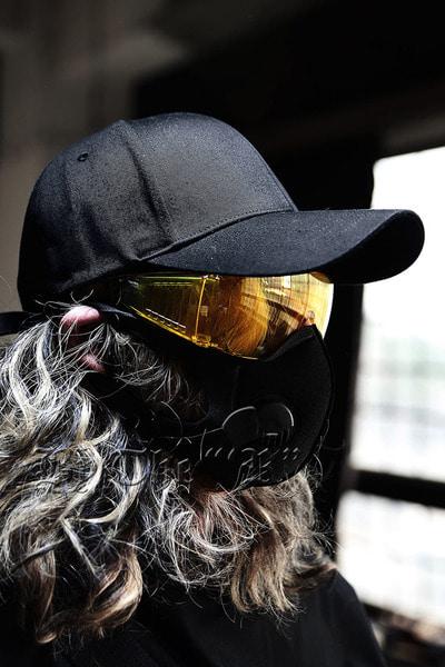 Colored Goggle Sunglasses
