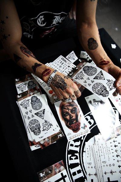 时尚纹身贴纸
