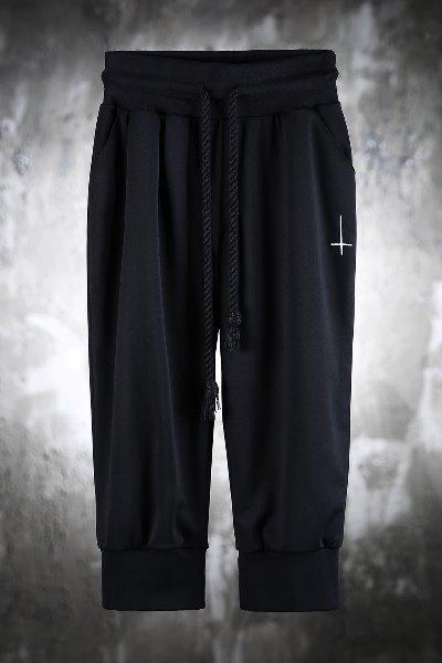 ProjectR 刺绣十字短裤
