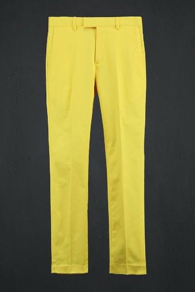ByTheR Vivid Classic Slacks Yellow