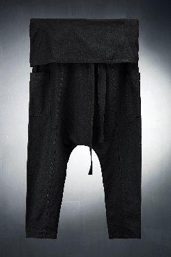 ByTheR 棉麻哈伦个性短裤