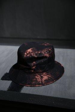 ByTheR Custom Rough Bleach  纯棉黑色渔夫帽