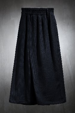 ByTheR waffle diagonal wrap wide pants