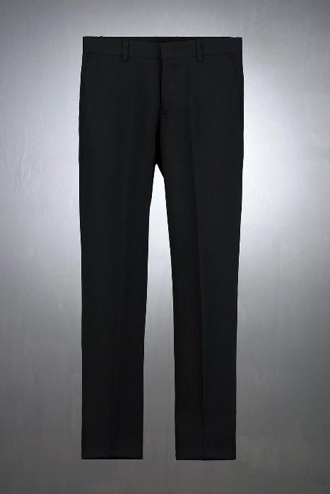 ByTheR黑色緊身直筒寬鬆褲