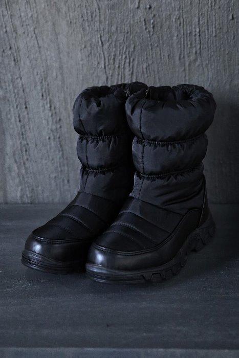 ByTheR黑色防寒短款棉靴