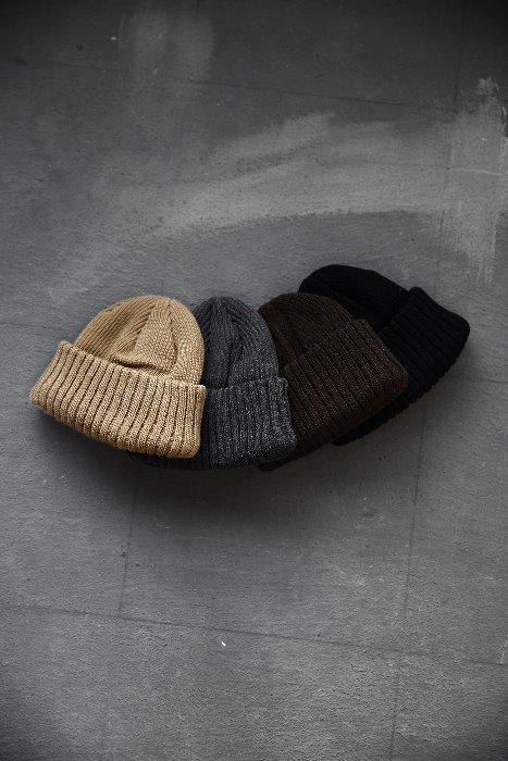 ByTheR圆顶竖条针织帽